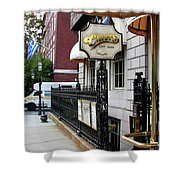 Cheers Shower Curtain by Paul Mashburn