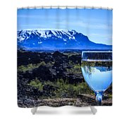 Cheers To Iceland Shower Curtain
