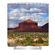Cheesebox Mesa Shower Curtain