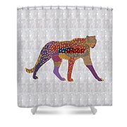 Cheetah Showcasing Navinjoshi Gallery Art Icons Buy Faa Products Or Download For Self Printing  Navi Shower Curtain