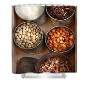 Chef - Food - Health Food Shower Curtain by Mike Savad