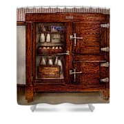 Chef - Fridge - The Ice Chest  Shower Curtain