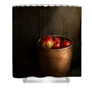 Chef - Fruit - Apples Shower Curtain