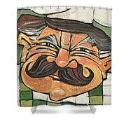 Chef Guido Shower Curtain