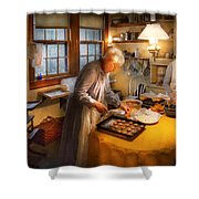 Chef - Kitchen - Coming Home For The Holidays Shower Curtain