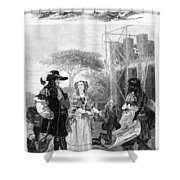 Chelsea Hospital, 1682 Shower Curtain
