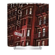 Chelsea Hotel Shower Curtain