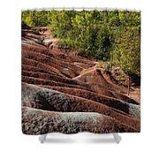 Mars On Earth - Cheltenham Badlands Ontario Canada Shower Curtain