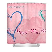 Chemical Thermodynamic Equation For Love 2 Shower Curtain