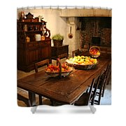 Chenonceau Kitchen  Shower Curtain