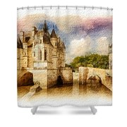 Chenonceau Shower Curtain