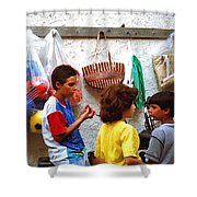 Cherda Children Shower Curtain