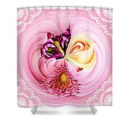 Cherished Bouquet Shower Curtain