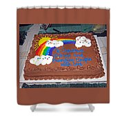 Celebration To Cherished Friends Shower Curtain