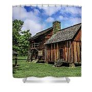 Cherokee Tavern Shower Curtain