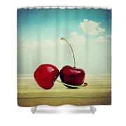 Cherries Love Shower Curtain