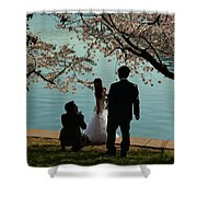 Cherry Blossoms 2013 - 054 Shower Curtain