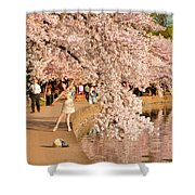 Cherry Blossoms 2013 - 076 Shower Curtain