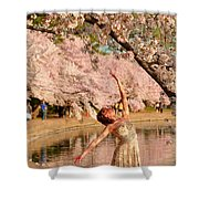 Cherry Blossoms 2013 - 077 Shower Curtain