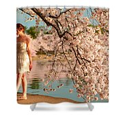 Cherry Blossoms 2013 - 079 Shower Curtain