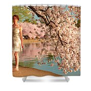 Cherry Blossoms 2013 - 080 Shower Curtain