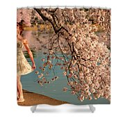 Cherry Blossoms 2013 - 082 Shower Curtain