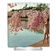 Cherry Blossoms 2013 - 085 Shower Curtain