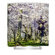 Cherry Blossoms 2014. Shower Curtain