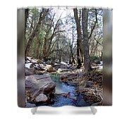 Cherry Creek Shower Curtain