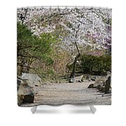 Cherry Lane Series  Picture J Shower Curtain
