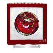 Cherry Liqueur Anyone... Shower Curtain