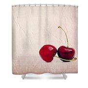 Cherry Love Shower Curtain