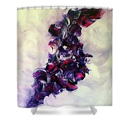Cherry Rock'n Roll Shower Curtain