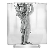Cherub Lifting Shower Curtain