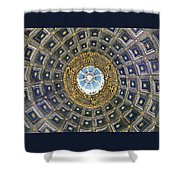 Cherubic Cupola Shower Curtain
