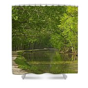 Chesapeake And Ohio Canal Towpath Shower Curtain