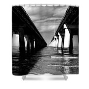 Chesapeake Bay Bridge II Shower Curtain
