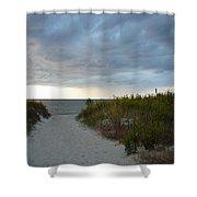 Chesapeake Bay Storm Shower Curtain