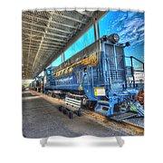 Chesapeake Western Baldwin Ds-4-4-660 No 662 Shower Curtain