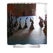 Chess Shower Curtain