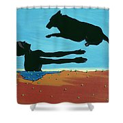 Chestertowns Shore, 1999 Shower Curtain by Marjorie Weiss