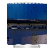 Chevrolet 2 Shower Curtain