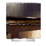 Chevrolet 3 Shower Curtain