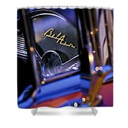 Chevrolet Belair Dash Board Emblem -754c Shower Curtain