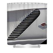 Chevrolet Corvette 1962 Shower Curtain