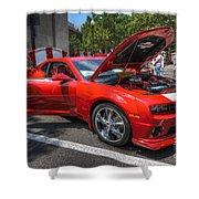 Chevrolet Camaro Shower Curtain