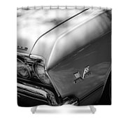 Chevrolet Chevelle Ss Grille Emblems Shower Curtain