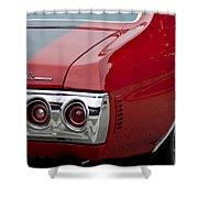 Chevrolet Chevelle Ss Taillight Emblem 3 Shower Curtain