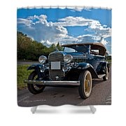 Chevrolet Confederate Ba Phaeton 1932 Shower Curtain