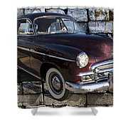 Chevrolet Deluxe Car Shower Curtain